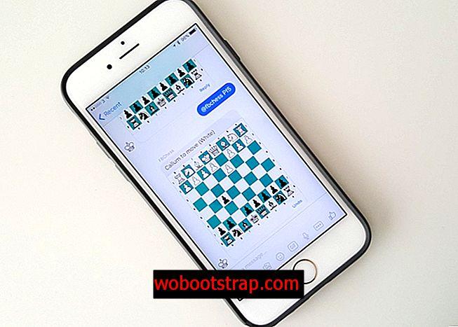 Jak hrát skrytou šachovou hru uvnitř Facebook Messenger na vašem iPhone